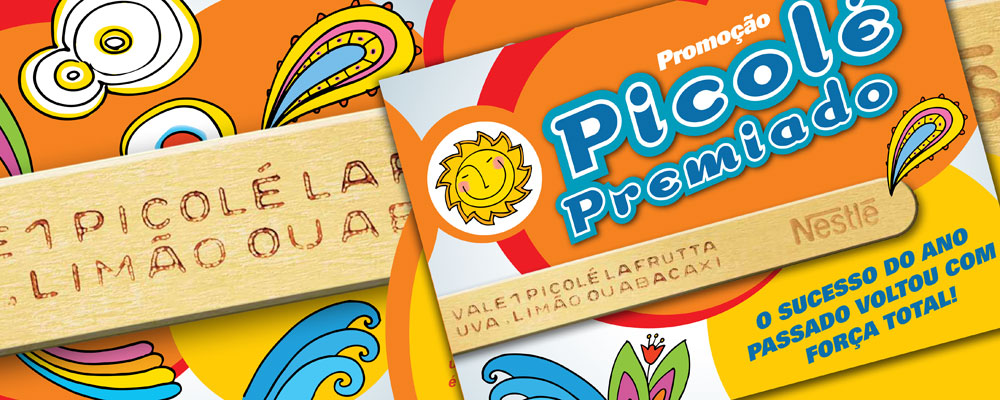 Picolé Premiado Sorvete Nestlé